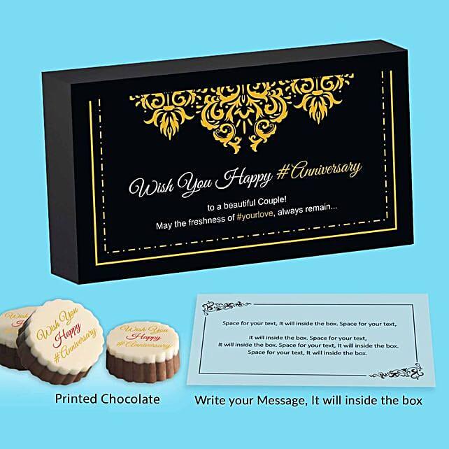 Personalised Romantic Message Chocolates