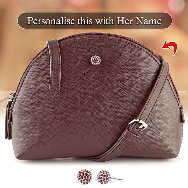 personalised sling bag online:Buy Handbags