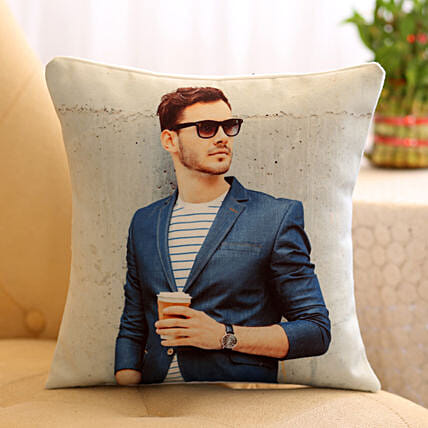Online Personalised Cushion For Him