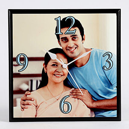 printed wall clock:Personalised Photo Clock