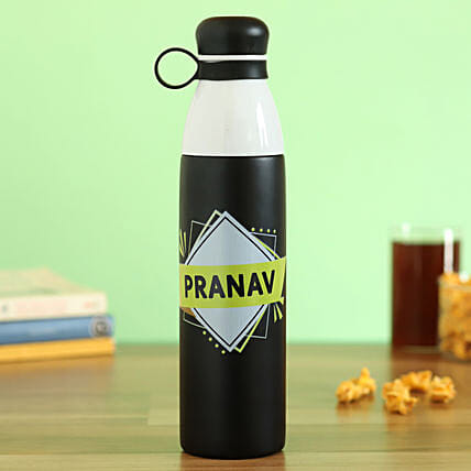 personalised steel flask online:Personalised Message Bottles