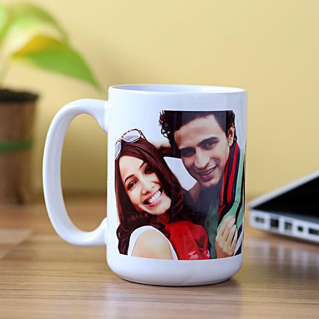 Personalised Stunning White Mug