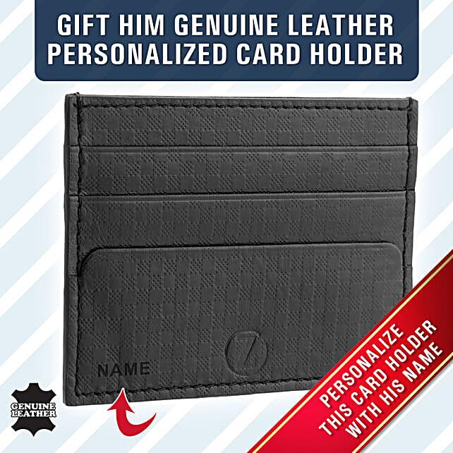 stylish black card holder online