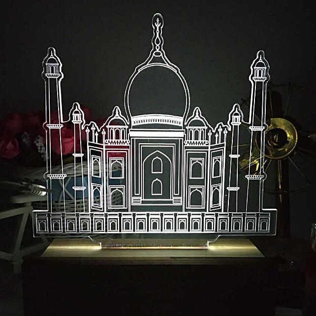 home decor taj mahal shape night lamp online