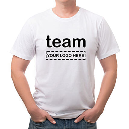Personalised Team White T Shirt