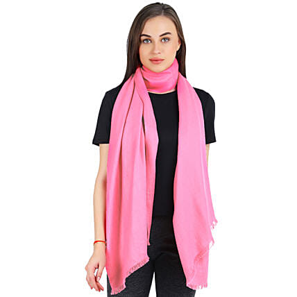 pink scarf for girl online
