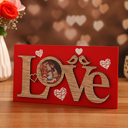 love theme personalised frame