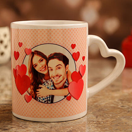 online personalised mug for vday:Customised Coffee Mug