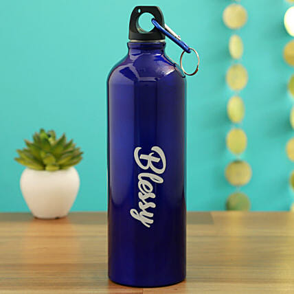 personalised water bottle for him