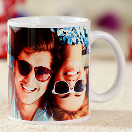 photo printed in white ceramic coffee mug:Personalised Mug