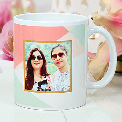 Womens Day Personalised white mug