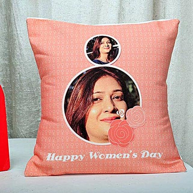 Womens day cushion