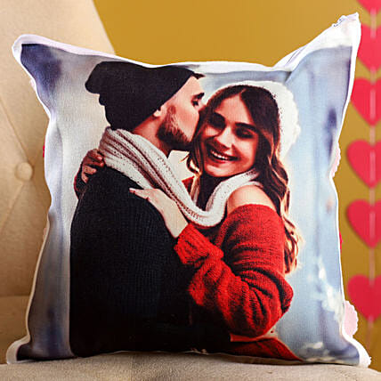 Double Side Customized Couple Cushion