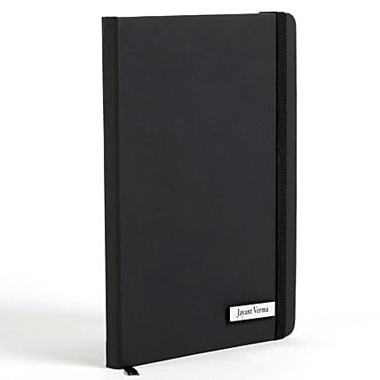 Custom Black Diary Online:Personalised Stationery