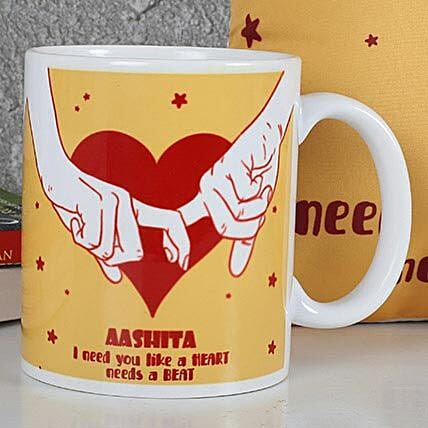 Printed Love coffee Mug