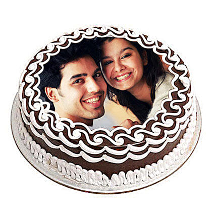 Personalized Chocolate Delicacy 1kg Eggless