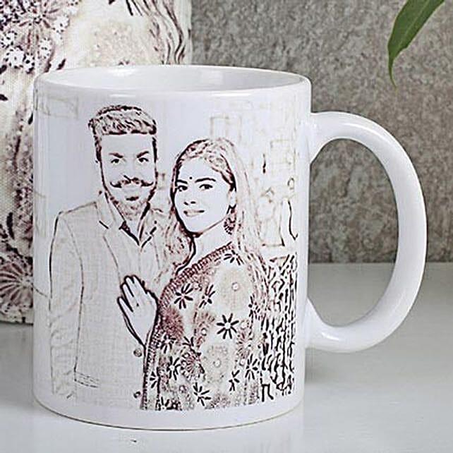 Couple Sketch Mug online