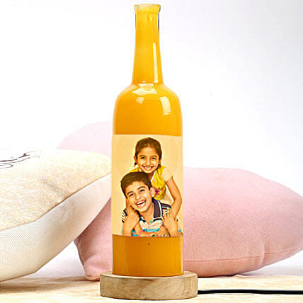 Personalized bottle lamp:Send Led Bottle Lamp