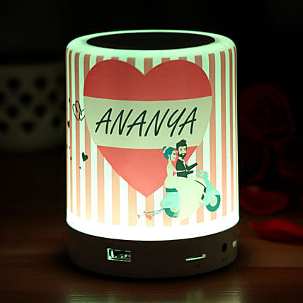 Personalized In Love Bluetooth LED Speaker