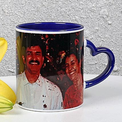 Coffee Mug With Photo:Personalised Gifts for Parents