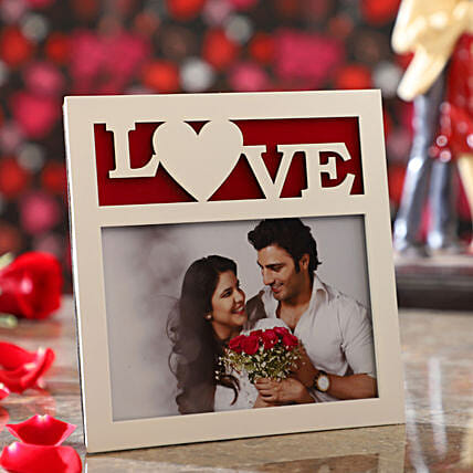 Personalised Love Photo Frame:Personalised Photo Frames