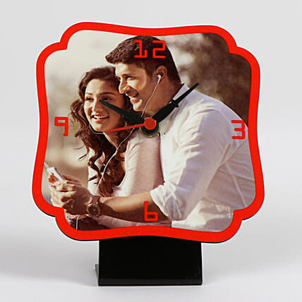 Personalised Photo Clock