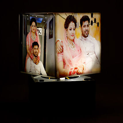 Personalized Rotating Lamp:Marriage Gifts
