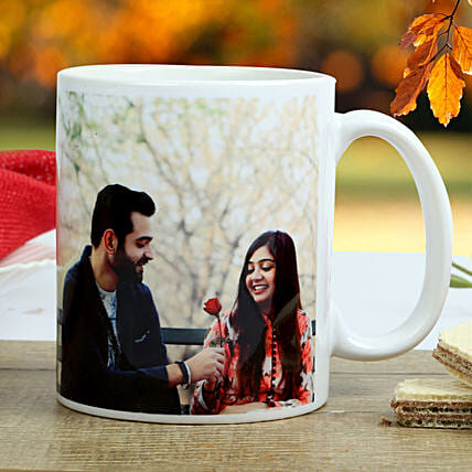 The special couple Mug-printed on white ceramic coffee mug:Personalised Gifts to Davanagere
