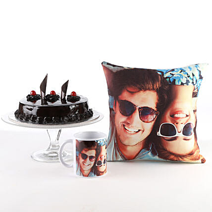 Send Anniversary Combo:Personalised Gifts Combos