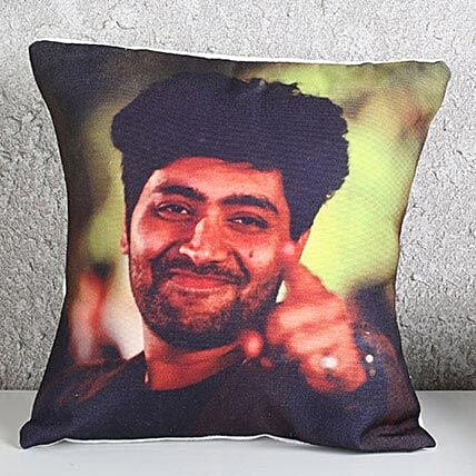 Customize Yourself on a Cushion-12x12 personalized cushion