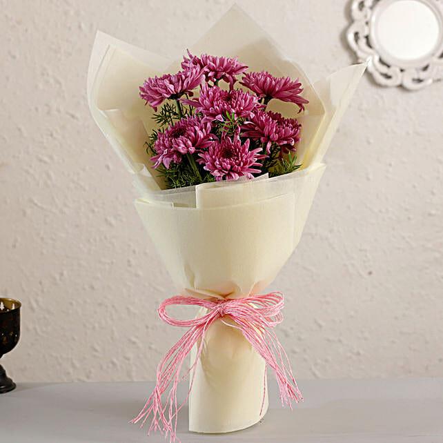 Pink Magic Chrysanthemum Bouquet