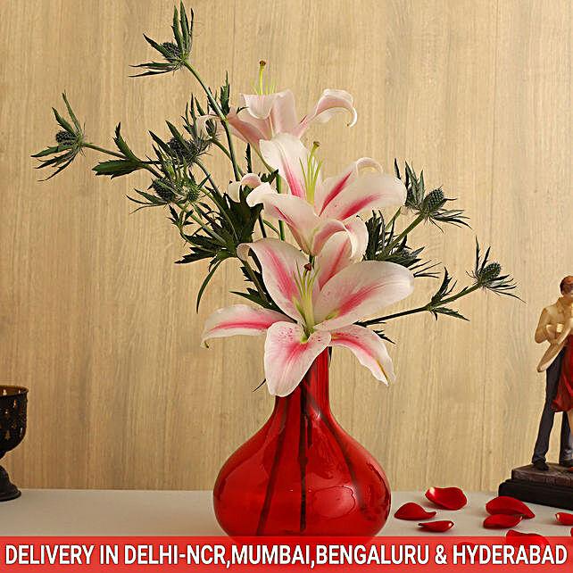 floral arrangement for husband