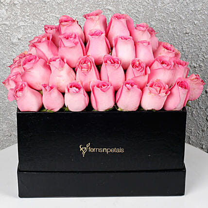 Heavenly Pink Roses Arrangement