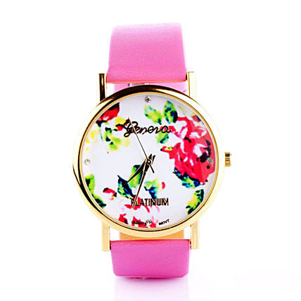 Mothers Day Floral Hot Pink Watch Online