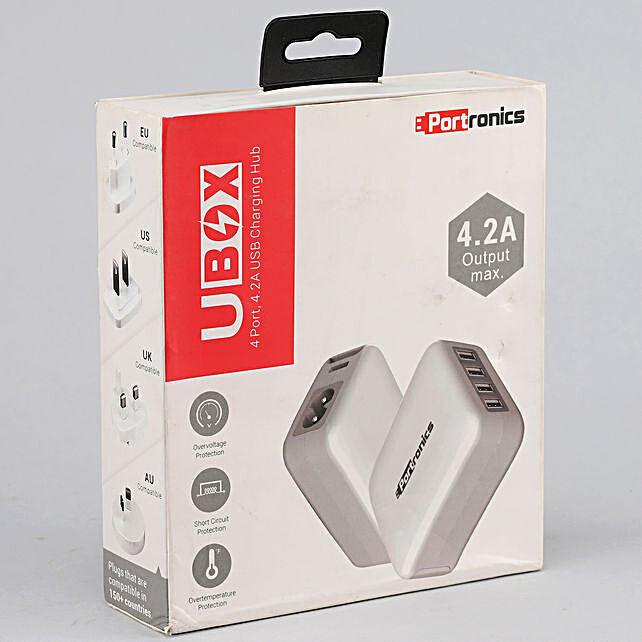 Portronics UBOX USB Charging Hub