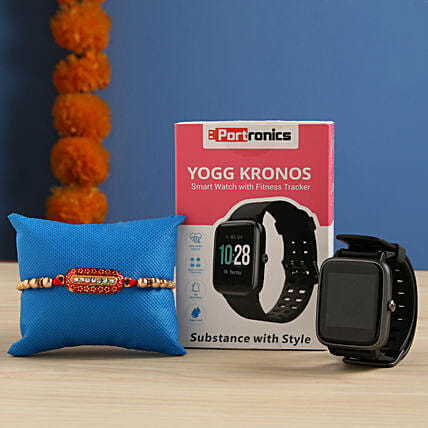 Portronics YOGG Kronos Smart Watch Rakhi