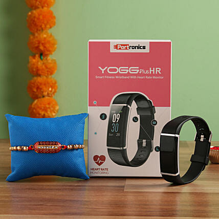 Portronics YOGG Plus HR Wristband Rakhi