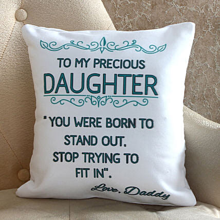 online cushion for daughter day
