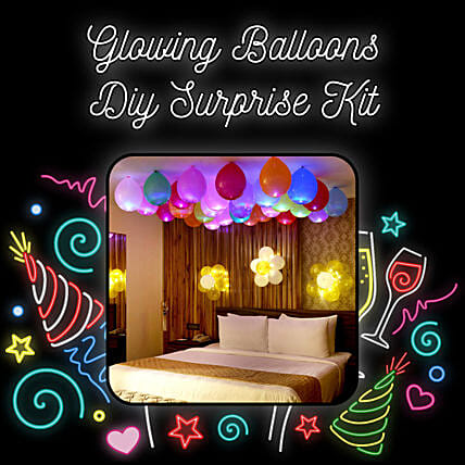 Premium Quality LED Balloons Decoration Kit