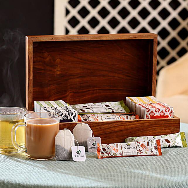 Online Tea Bags Hamper Box
