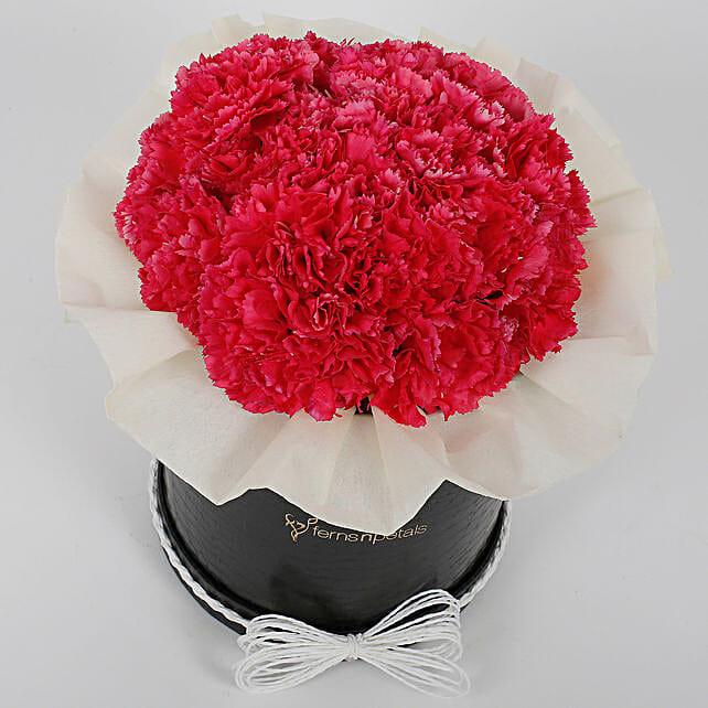 Pretty Pink Carnations Box