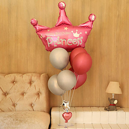 Princess Balloons Online:Balloon Bouquets