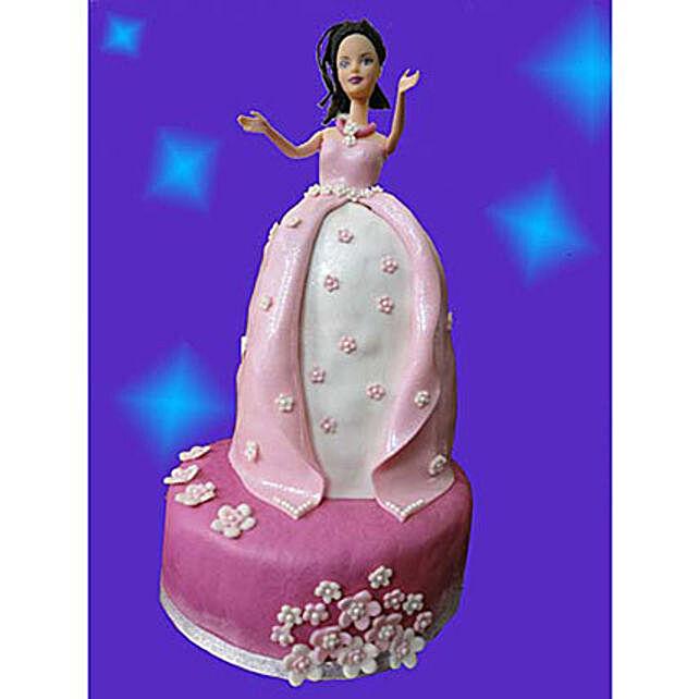 Princess Cake 3kg Chocolate Eggless