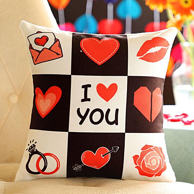 Online Love You Cushion