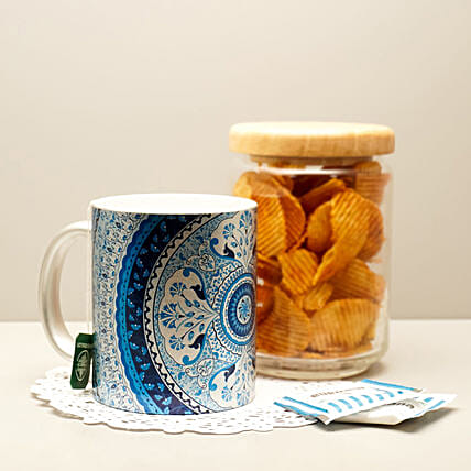 Online Turkish Silver Mug