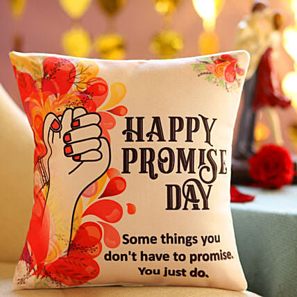 Promise Day Cushion for Couples