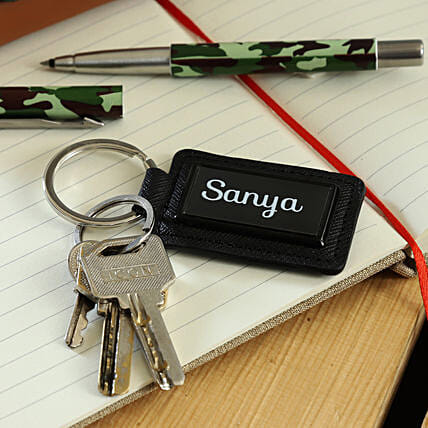 personalised key chain for him
