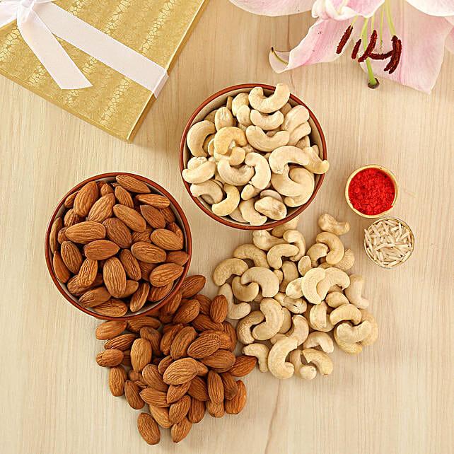 Mix dry fruits:Send Bhai Dooj Tikka Gifts