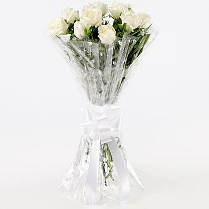 Bunch of White Roses Online