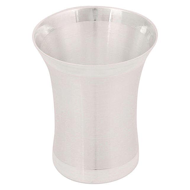 Online Silver Medicine Glass